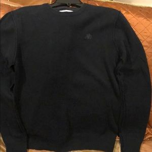 Aeropostale Men's Black Crewneck Sweater